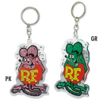 Rat Fink Clear Key Ring
