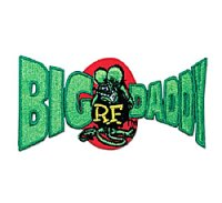 Rat Fink Big Daddy Patch