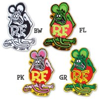Rat Fink Patch 9.5cm