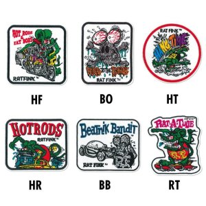 Photo2: Rat Fink Embroidery Patches