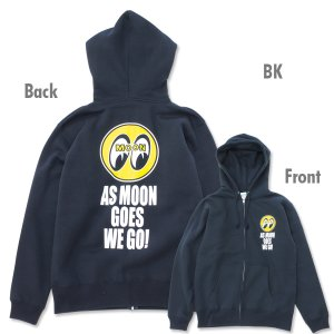 Photo2: As MOON Goes We Go Zip Parka