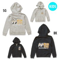 Kids MOON Eyeshape Logo Light Zip Parka