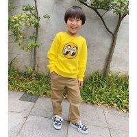 Eyeball Infant Sweatshirt Yellow