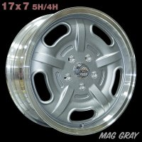 Speed Master Wheel 17x7 5H/4H  (Mag Gray)