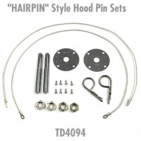 """HAIRPIN"" Style Hood Pin Sets"