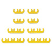 8mm Wire Divider Set - Yellow