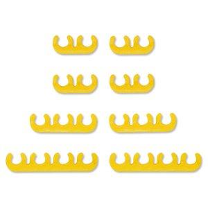 Photo1: 8mm Wire Divider Set - Yellow