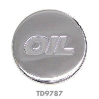Chrome Oil Caps