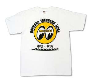 Photo1: MOON EYEBALL Honmoku - Yokohama T Shirt