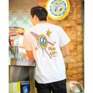 Photo1: MOON Cafe T-Shirt