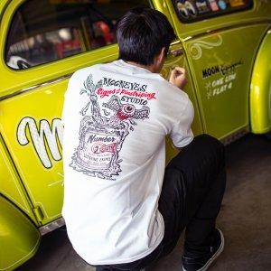 Photo1: MOONEYES Signs & Pinstriping Studio T-Shirt
