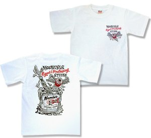 Photo2: MOONEYES Signs & Pinstriping Studio T-Shirt