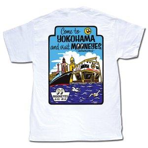 Photo3: MOON Come to  YOKOHAMA T-Shirt