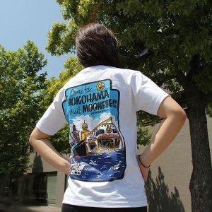 Photo4: MOON Come to  YOKOHAMA T-Shirt