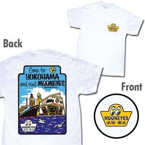 Photo1: MOON Come to  YOKOHAMA T-Shirt