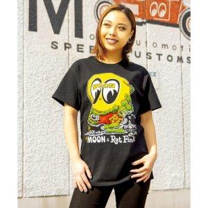 Photo1: Rat Fink x MOON T-shirt