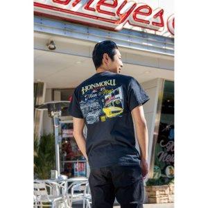 Photo1: MOON Honmoku Then & Now T-shirt