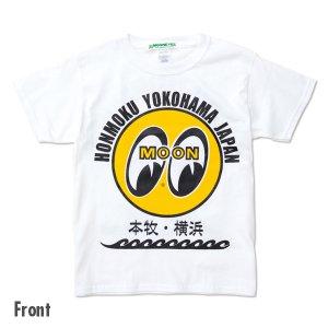 Photo2: Kids & Ladies MOON Eyeball Honmoku Yokohama T-Shirt