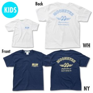 Photo1: Kids & Ladies Fly with MOON T-Shirt