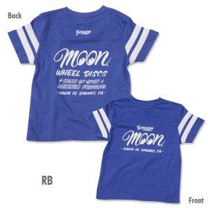 Photo2: Kids MOON Wheel Discs Football T-Shirt