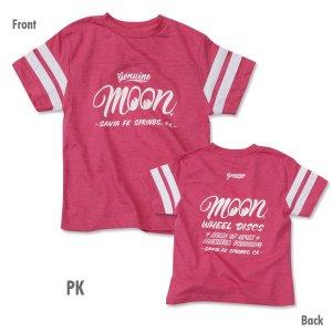 Photo3: Kids MOON Wheel Discs Football T-Shirt