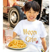MOON Cafe French Fries Photo T-shirt