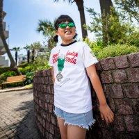 Kids MOON Cafe Cream Soda Trim T-shirt
