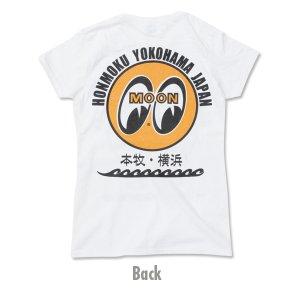 Photo3: MOON EYEBALL Honmoku - Yokohama Ladies T-Shirt