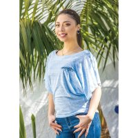 MOONEYES Ladies Dolman T-shirt