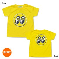 MOON Infant T-Shirt (3 years old ~ 5/6 years old) Yellow
