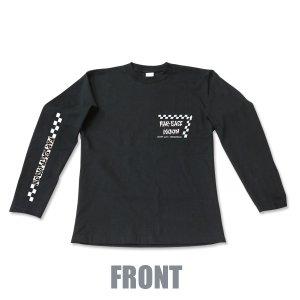 Photo3: Far East MOON Long Sleeve T-Shirt