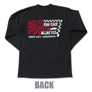 Photo4: Far East MOON Long Sleeve T-Shirt