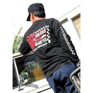 Photo5: Far East MOON Long Sleeve T-Shirt