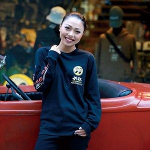 Photo2: Honmoku Midnight Long Sleeve T-shirt