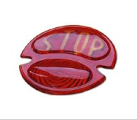 STOP Tail Lens for 1928 - 1931 Tail Lamp