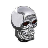 Plastic Skull Shift Knob Chrome