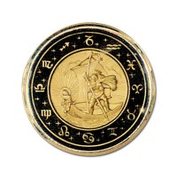 St. Christopher Horn Button