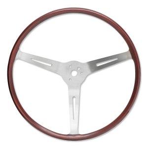 """Photo1: FLAT4 GT Wood Steering Wheel 14"""""""