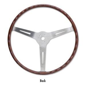 """Photo2: FLAT4 GT Wood Steering Wheel 14"""""""
