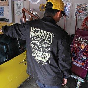 Photo1: MOON Signs & Pinstriping Studio Windbreaker