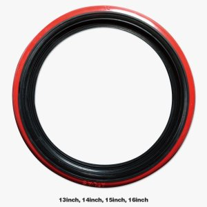 Photo1: Red Ribbon Skinny Type PORT-O-WALL