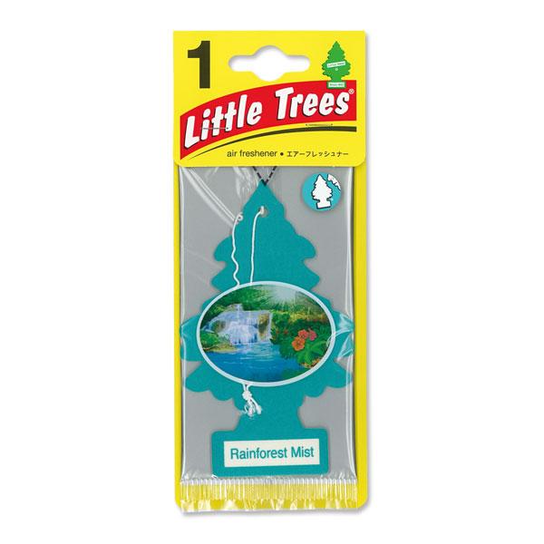 Little Tree Paper Air Freshener Rainforest Mist