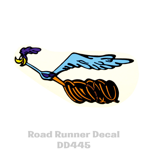 Vintage plymouth roadrunner rage iron on transfer nos