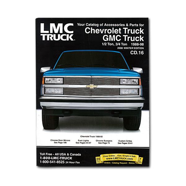 Parts Accessories For Chevrolet Trucks Suvs Lmc Truck >> Lmc Truck Com Part Catalog 88 98 Chevy Gmc Truck