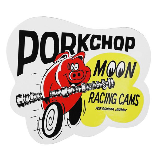 Porkchop x mooneyes cams sticker kgpc020