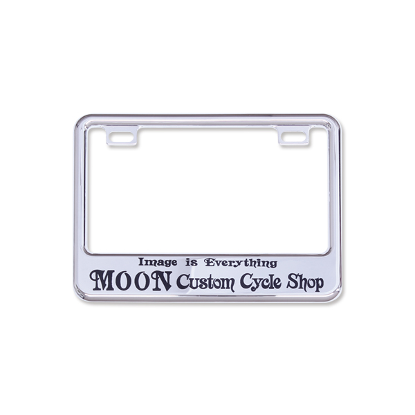 50cc〜125cc】Licence Plate Frame for Small Motorcycle Chrome \