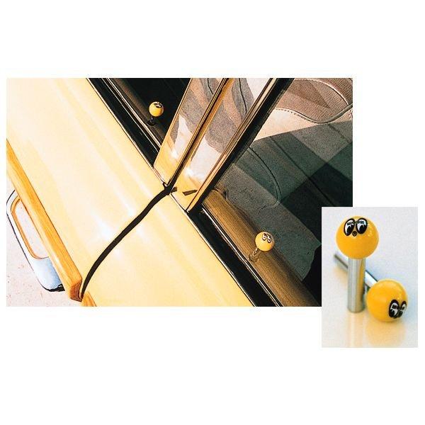 Photo1: MOONEYES Eyeball  Door lock Knob (1)