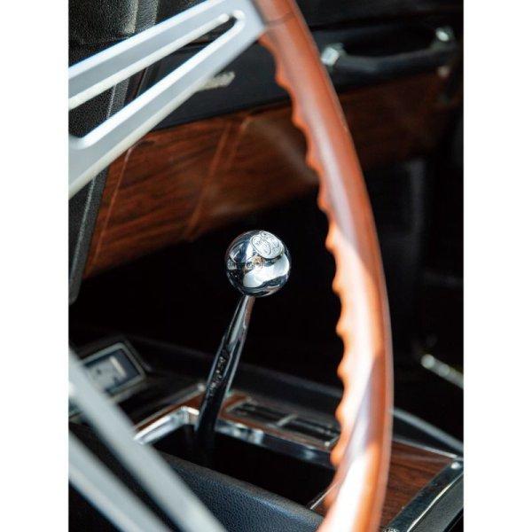 Photo2: MOONEYES Chrome ball shift knob MOON (2)
