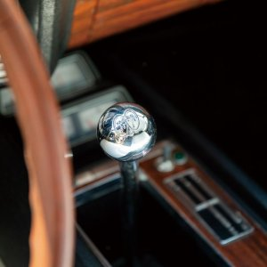 Photo: MOONEYES Chrome ball shift knob MOON