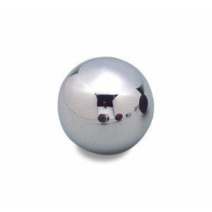 Photo: MOONEYES Chrome ball shift knob plane